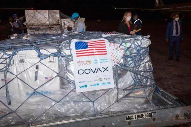 RDC-covid-19: plus de 250.000 doses supplémentaire du vaccin Pfizer réceptionnées à Kinshasa