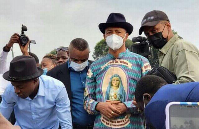 Nord-Kivu: Moïse Katumbi compatit avec les sinistrés du Nyirangongo à Goma