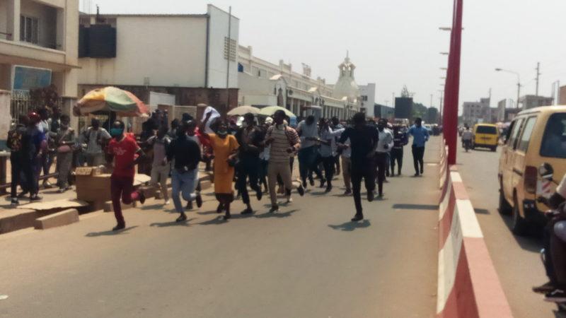 Haut Katanga : les étudiants de l'institut supérieur de statistique ont marchés pour revendiquer leur bâtiment