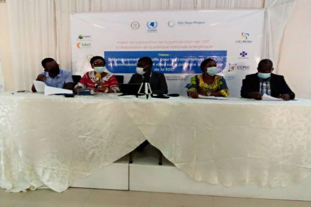 Lubumbashi : les OSC pour l'amélioration de l'accès à l'énergie en y impliquant les communautés