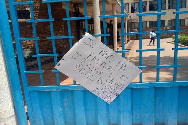 Lubumbashi : des mouvements citoyens manifestent contre l'instabilité du courant électrique