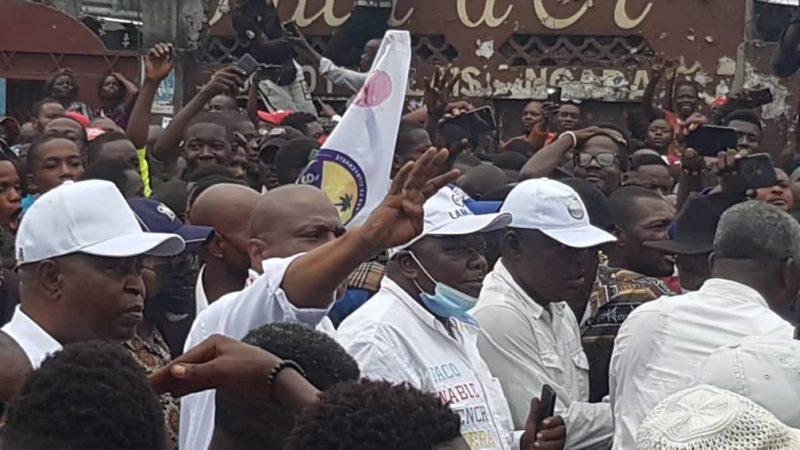 Kinshasa: la marche de Lamuka s'est clôturée sans incident